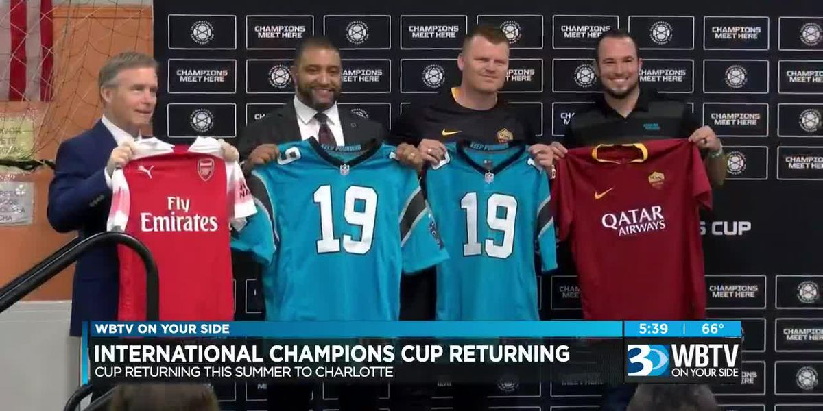 Arsenal set to take on AS Roma in International Champions Cup match at Bank of America Stadium