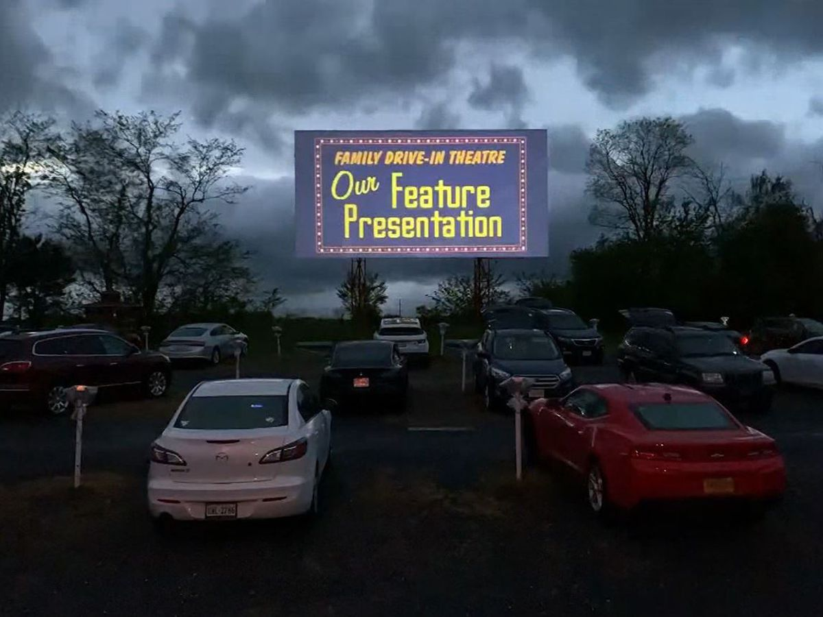Drive In Movies In Rowan Cancelled Due To Rain