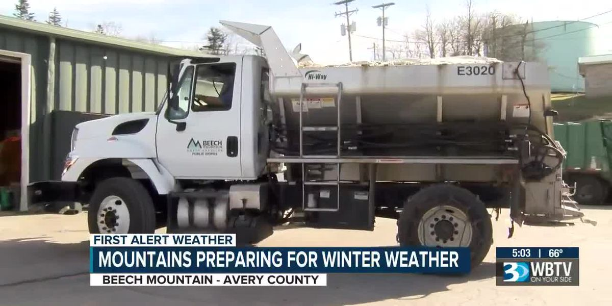 NC mountains preparing for winter weather