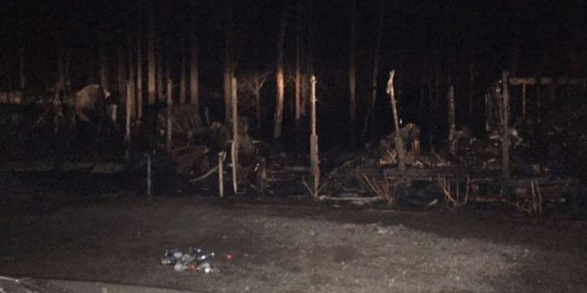 Wife killed, husband injured in home invasion turned fire near Lake Gaston