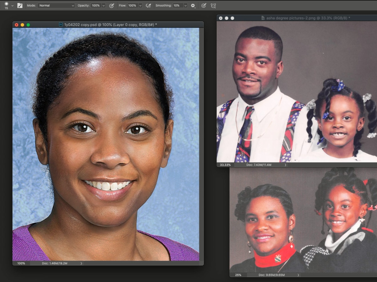 Artist who created age progression photo of missing Asha Degree explains process