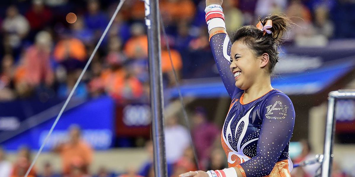 Star college gymnast from Huntersville suffers gruesome leg injuries during competition