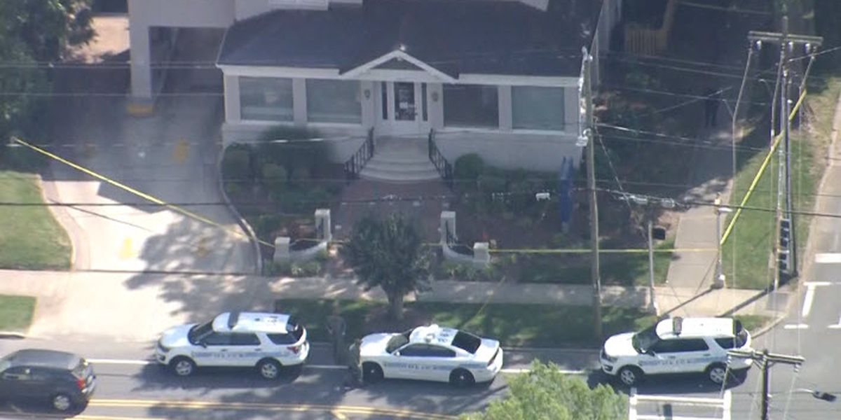 Suspect in custody after bank robbery in Dilworth