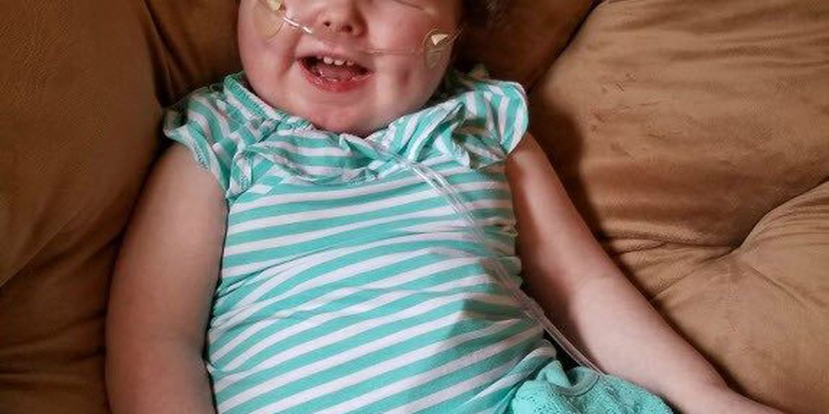 Molly's Kids: 3-year-old Lauren Hawking continuing to fight