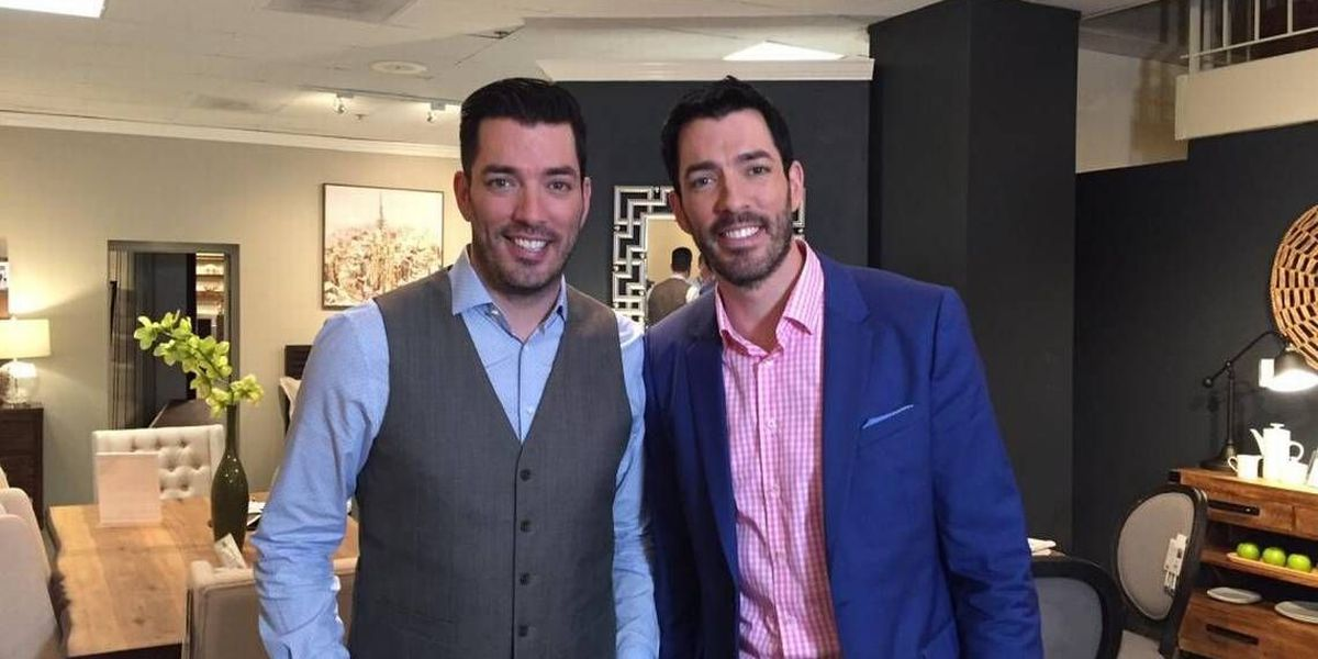 What are TV's busiest twins doing in NC? We catch up with the fast-moving Property Brothers.