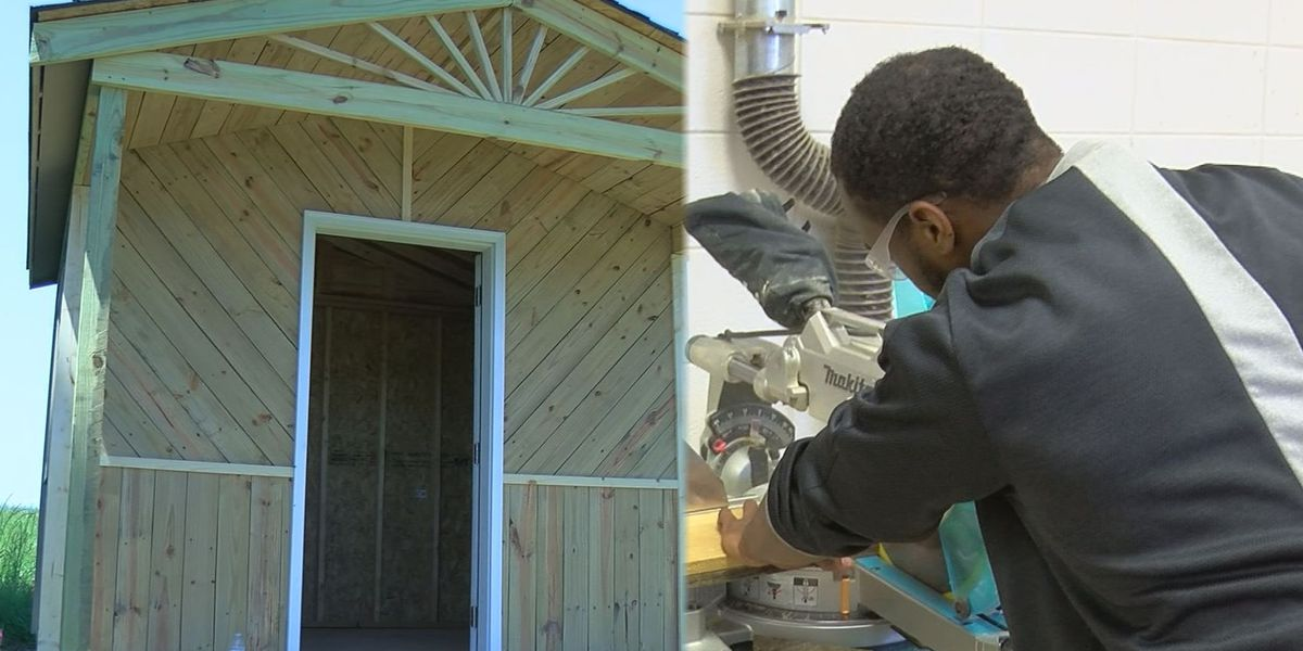 Kannapolis high school students use carpentry class to help struggling veterans