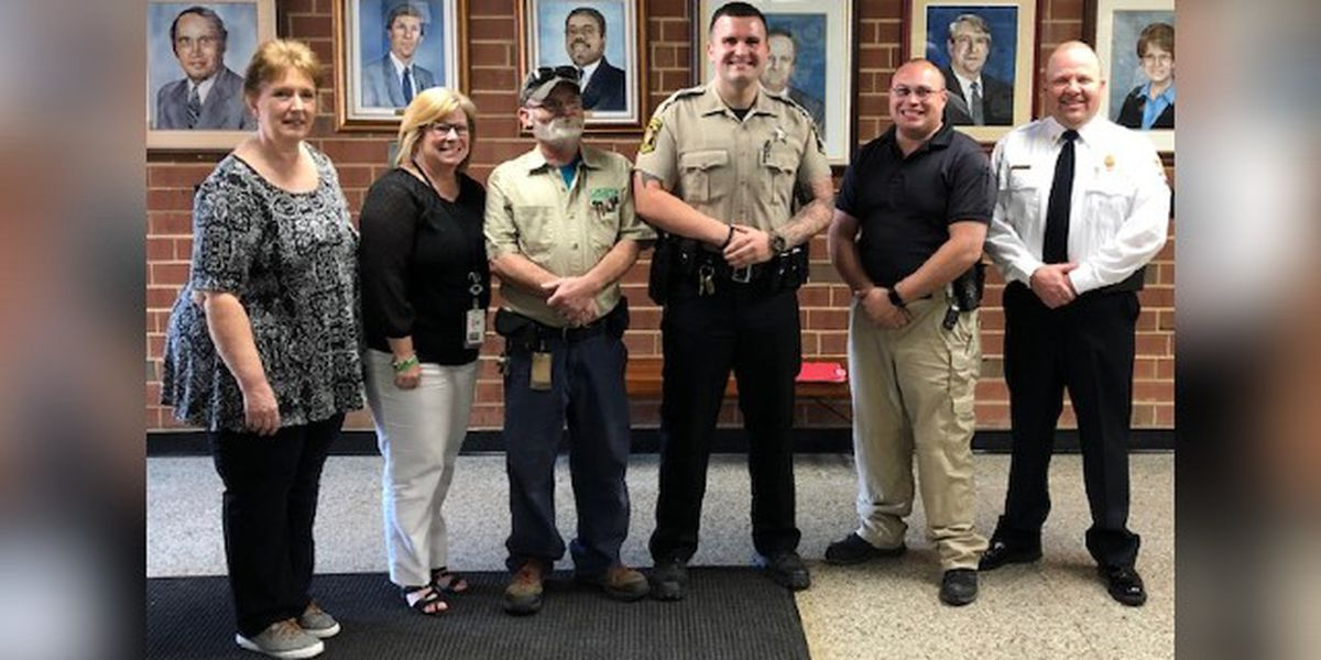 School resource officer, school staff save maintenance worker in cardiac arrest in Union County