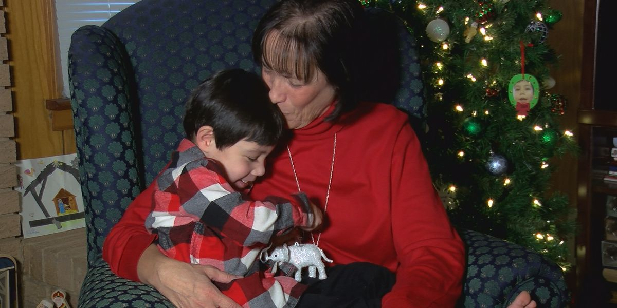 NICU nurse spends fifth Christmas with former patient who is now her son