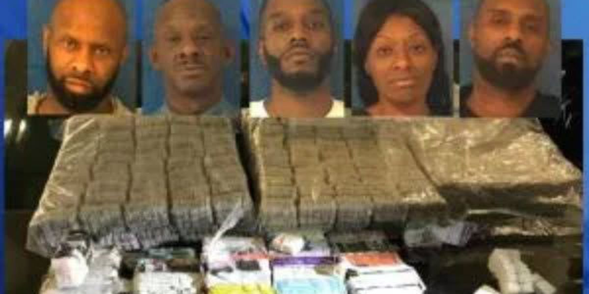 Five busted, nearly 300 heroin 'bricks' seized after tip in NC, deputies say