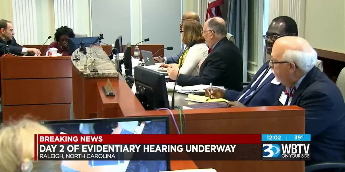 Day two of NC District 9 investigation hearing underway