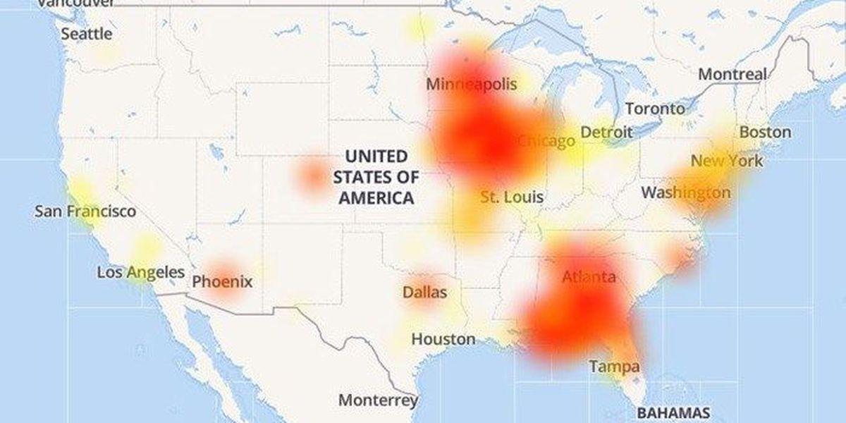 Service restored after 'massive' outage hits Mediacom subscribers