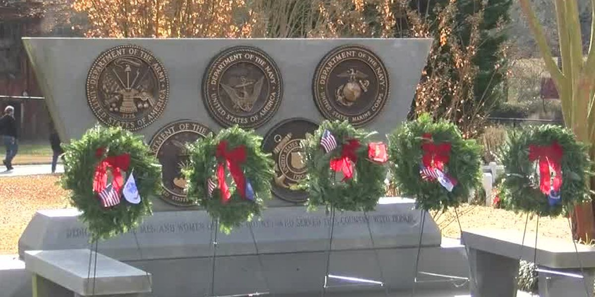 Wreaths honor North Carolina veterans who defended our freedom