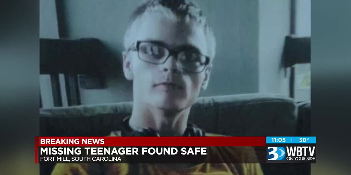 Missing teenager found safe