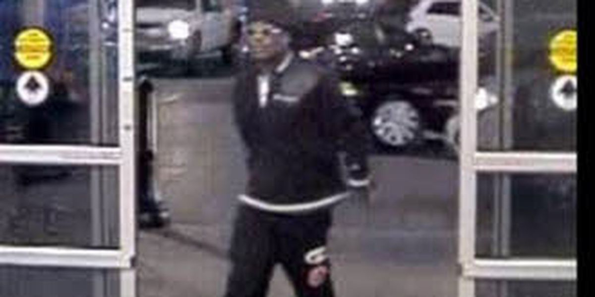 Police searching for person responsible of using stolen credit card, breaking into car