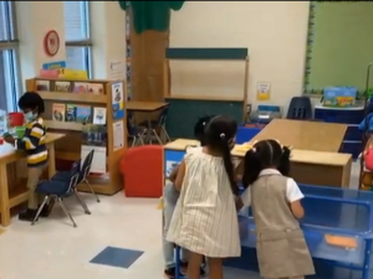 CMS welcomes hundreds of Pre-K students back into the classroom