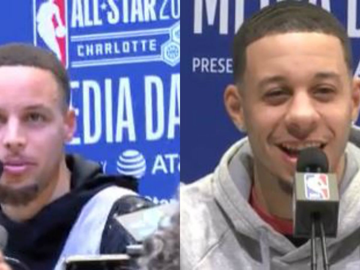 Curry brothers bet family tickets for career on 3-point contest