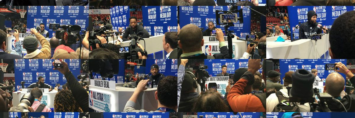 Steph, Kemba among NBA superstars to speak during NBA All-Star Media Day in CLT