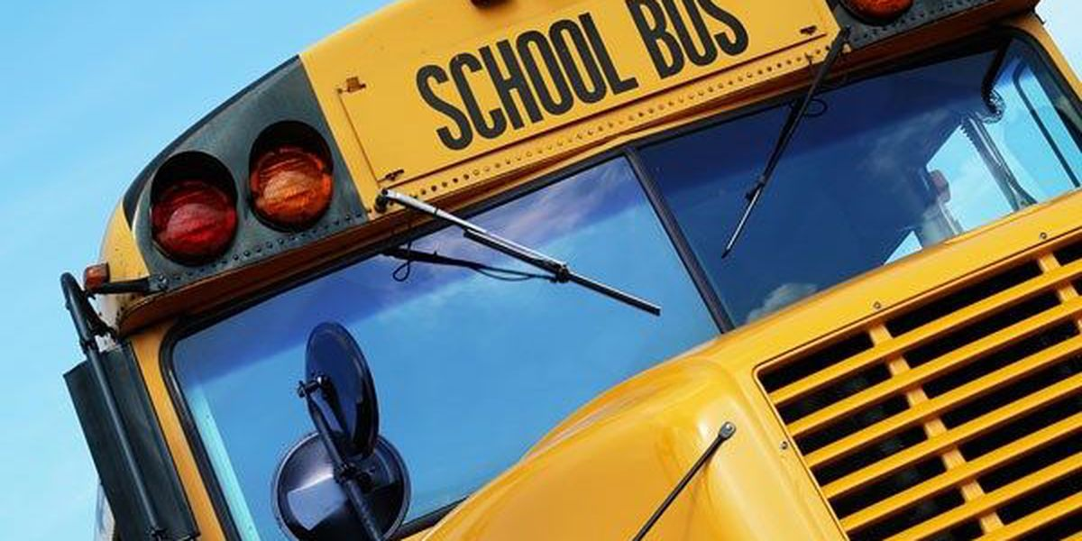 No injuries reported in Huntersville school bus wreck