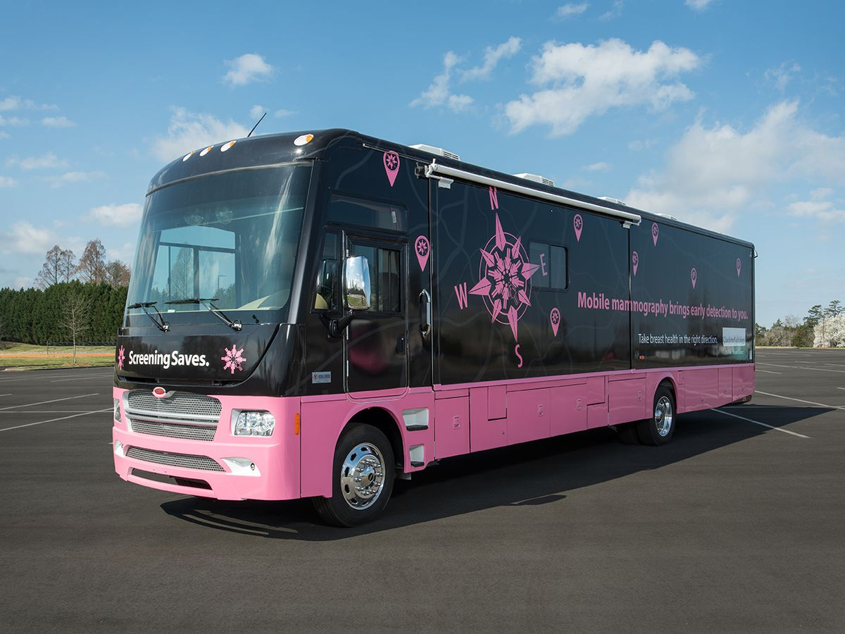 Project Pink: Dozens of uninsured women to visit 'breast center on wheels' for free mammogram