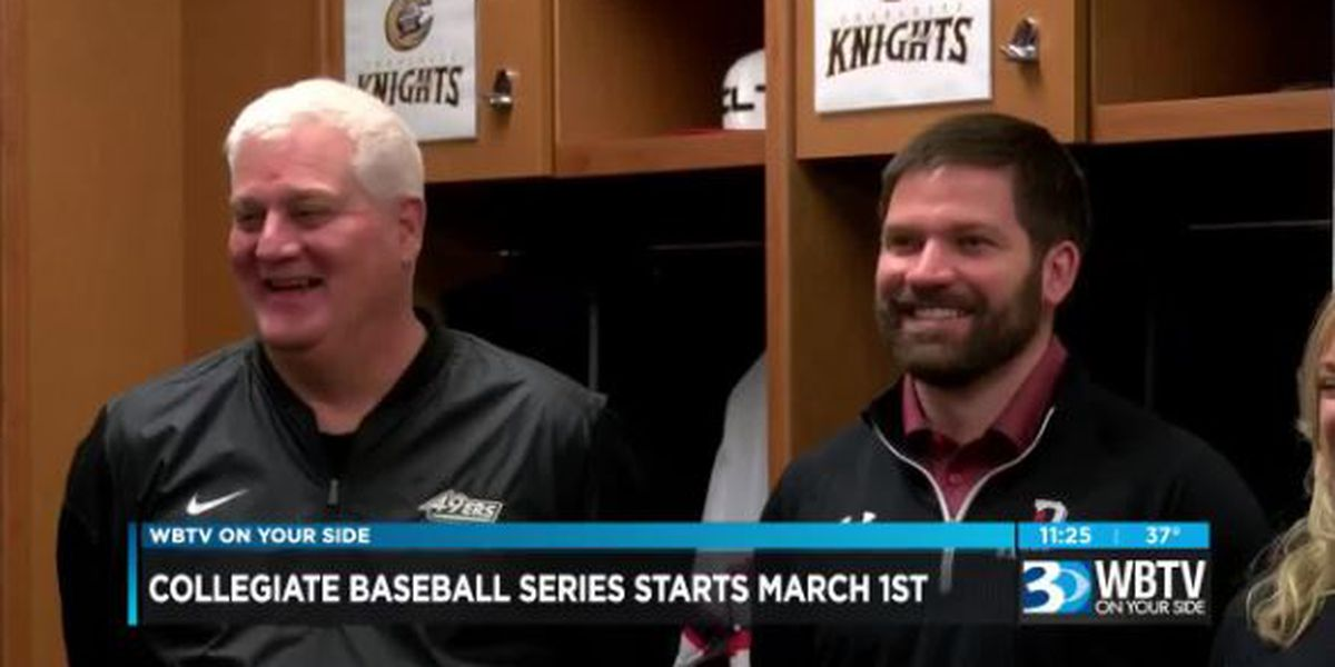 College baseball returns to BB&T Ballpark on March 1st
