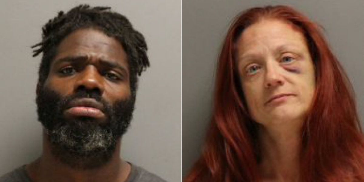 Man, woman arrested after gun pointed at Family Dollar employee during robbery