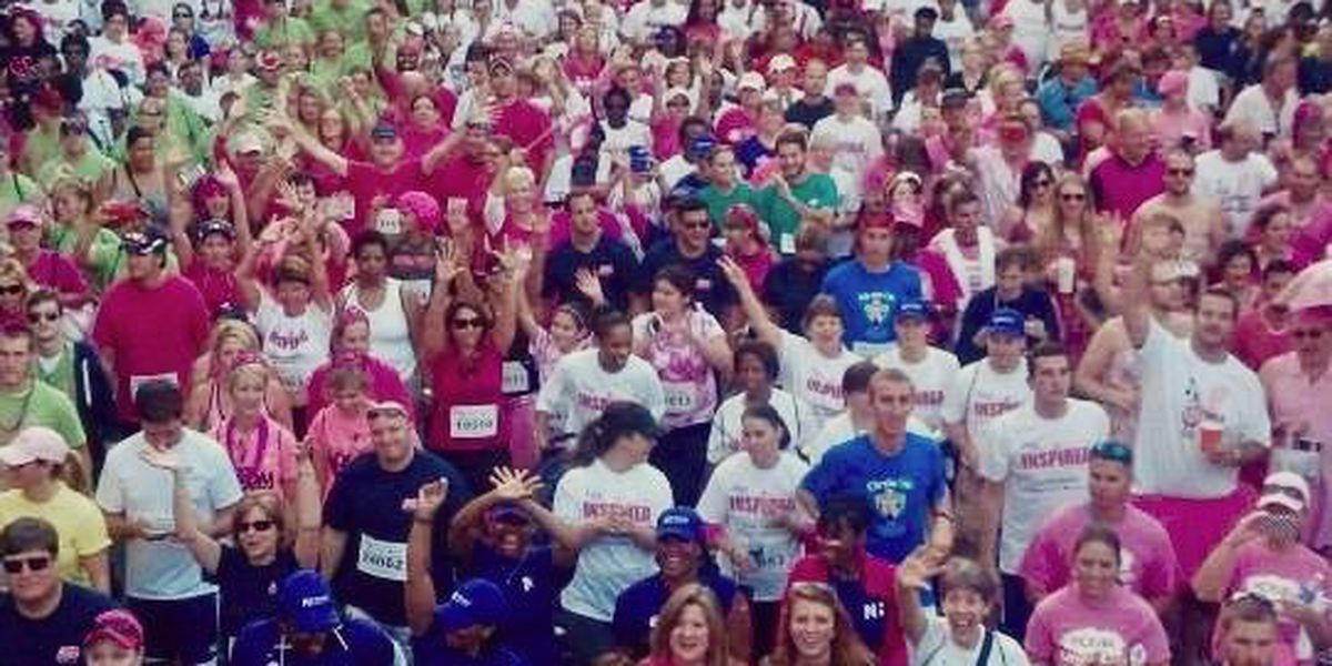 Gearing up for this year's Race for the Cure