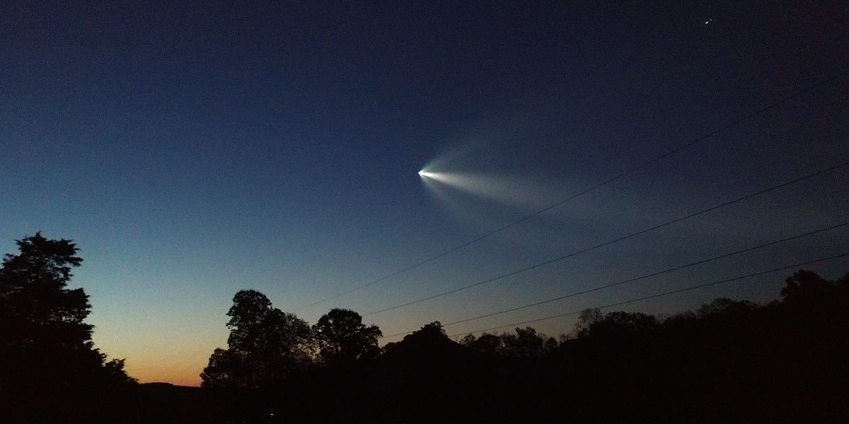 "Viewers spot NASA'S SpaceX from Charlotte area: ""That is wild"""
