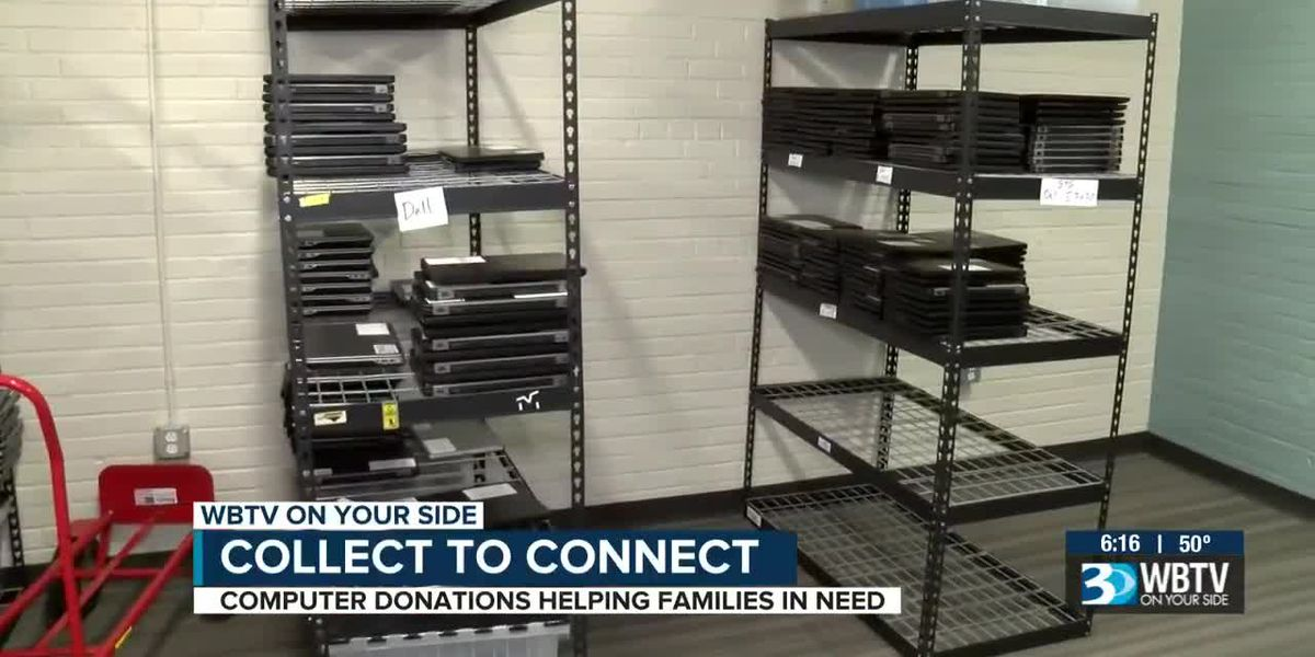 Computer donations helping families in need