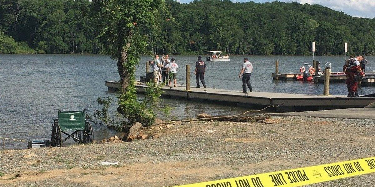 Person missing on Catawba River found