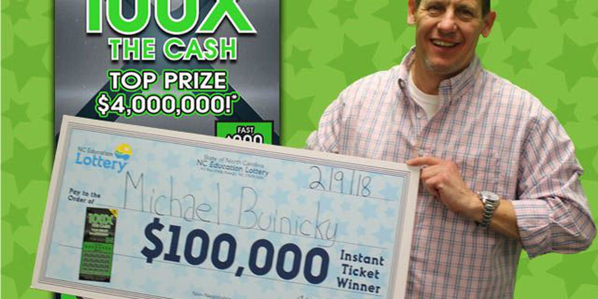 Air Force veteran buys scratch-off at Charlotte convenience store, wins $100,000