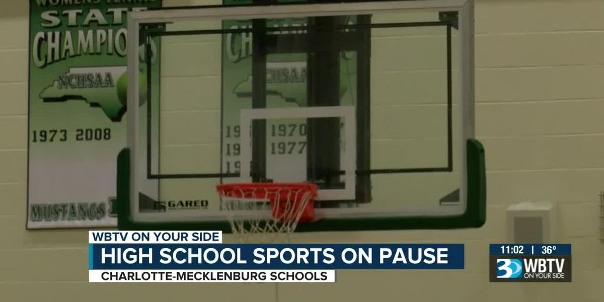 High school sports on pause