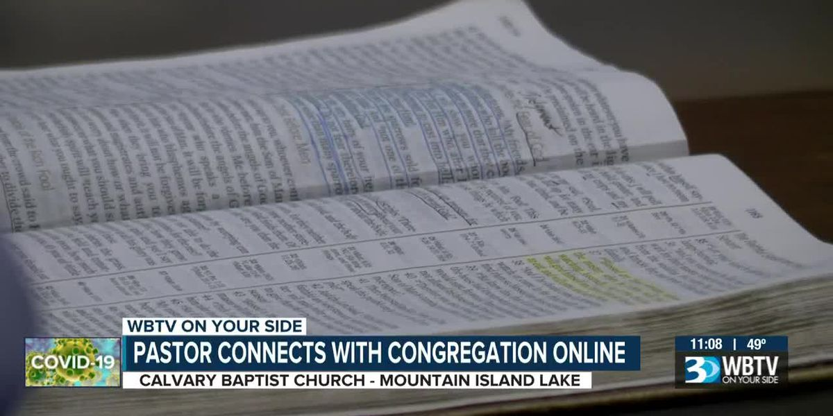 Charlotte pastor keeping congregation connected through Facebook Live
