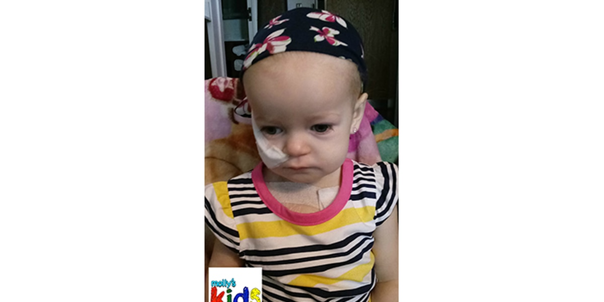 """Molly's Kids: """"My 16-month-old was diagnosed with cancer"""""""