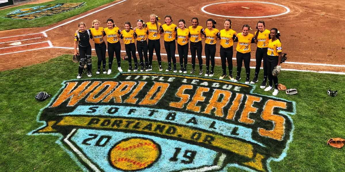 Girls on a run! Rowan girls get fifth straight win in Little League Softball World Series
