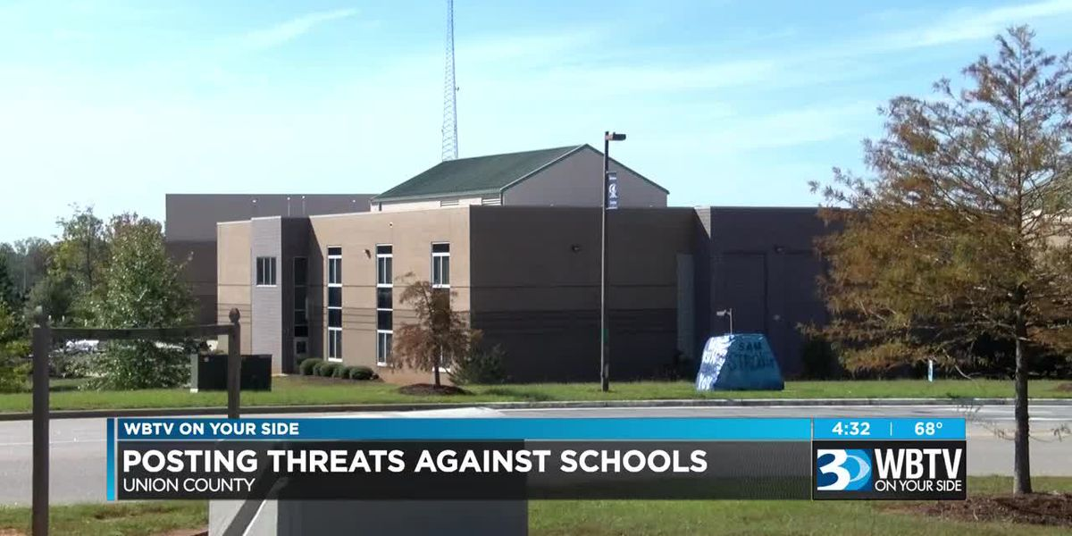 Posting threats against schools