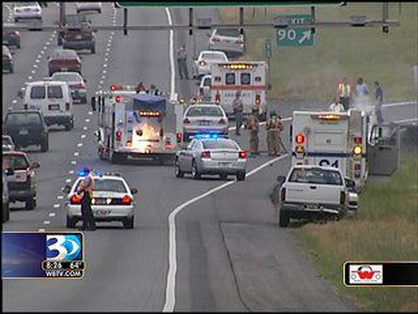 Truck driver charged in I-77 accident near NC/SC line