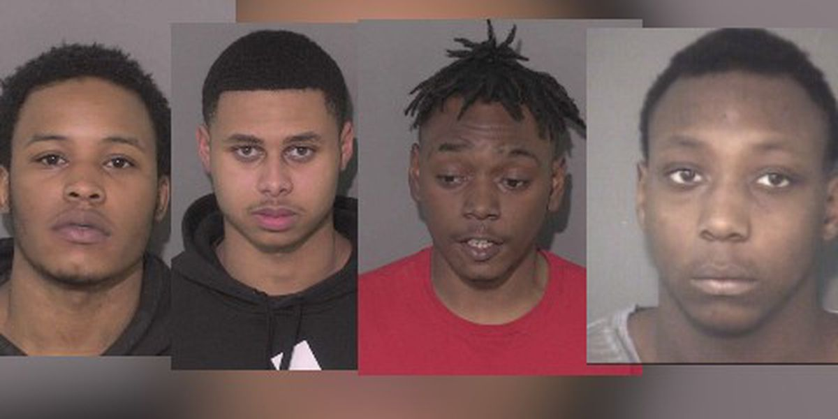 Three arrested, one on the run, in connection with Union County drive-by shooting