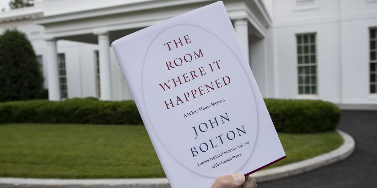 Lawyer: Bolton will cooperate with any probe into his book