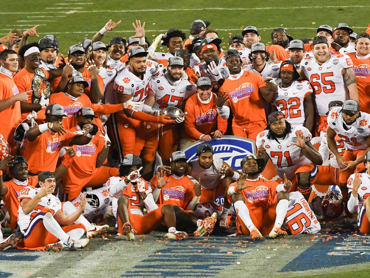 Defense clamps down, No. 3 Clemson dominates No. 2 Notre Dame to capture 6th straight ACC title