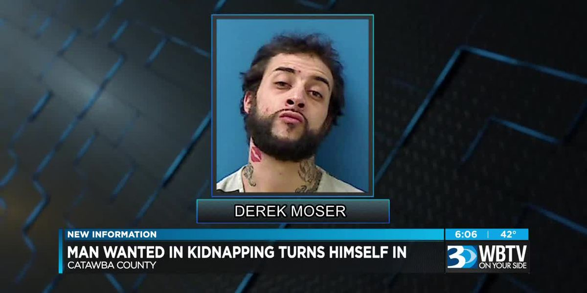 Man wanted in kidnapping turns himself in