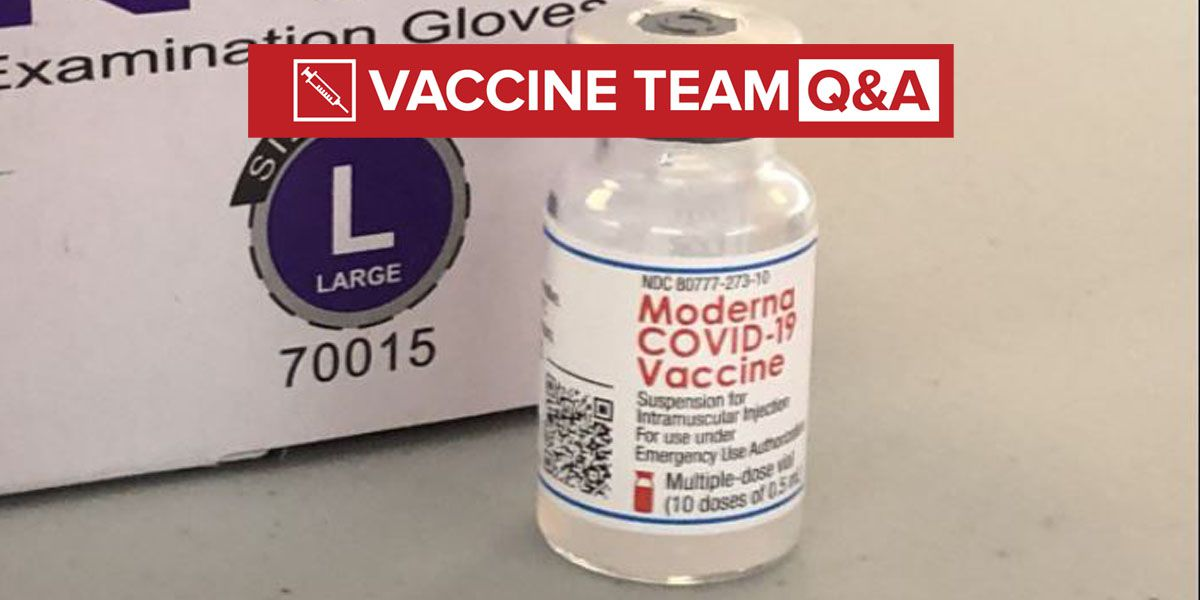 VACCINE TEAM: Will vaccine affect result of COVID-19 test?