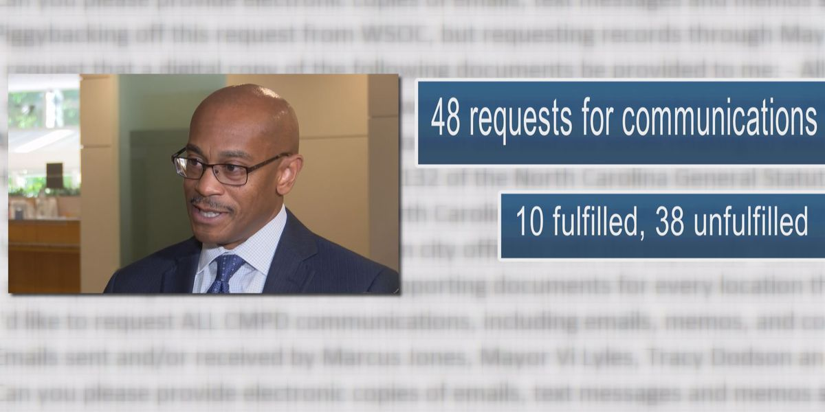 Charlotte defies public records law as emails remain hidden for years