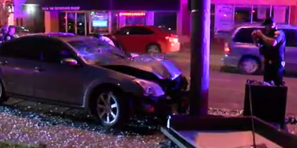 Driver choking on Burger King demolishes RTA bus stop in Cleveland