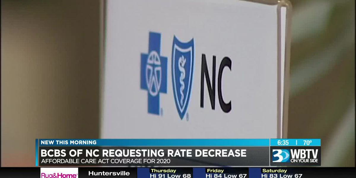Blue Cross NC is seeking approval to lower Obamacare rates for its customers again