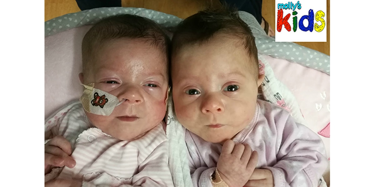Molly's Kids: Preemies Annie and Avery now over 6-pounds each