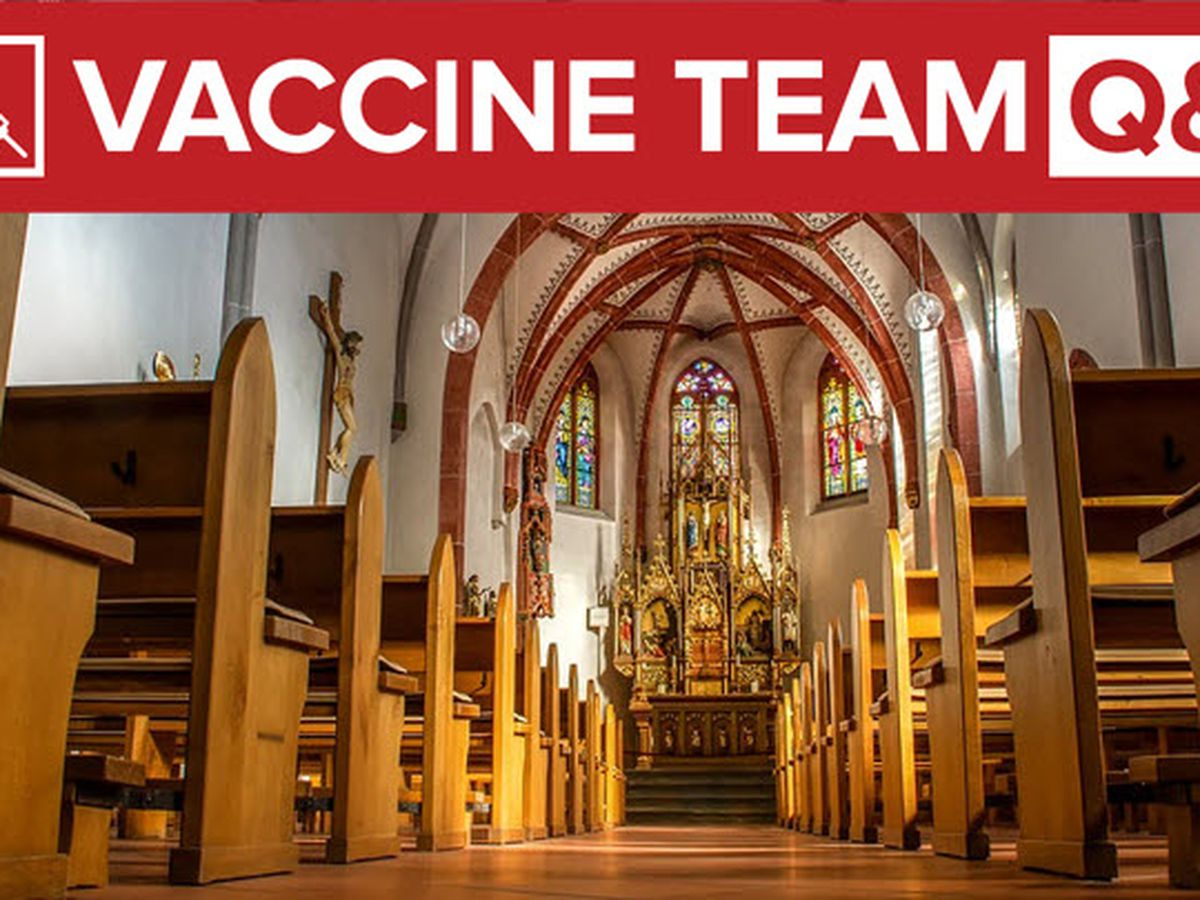 VACCINE TEAM: When will clergy be eligible for the vaccine?