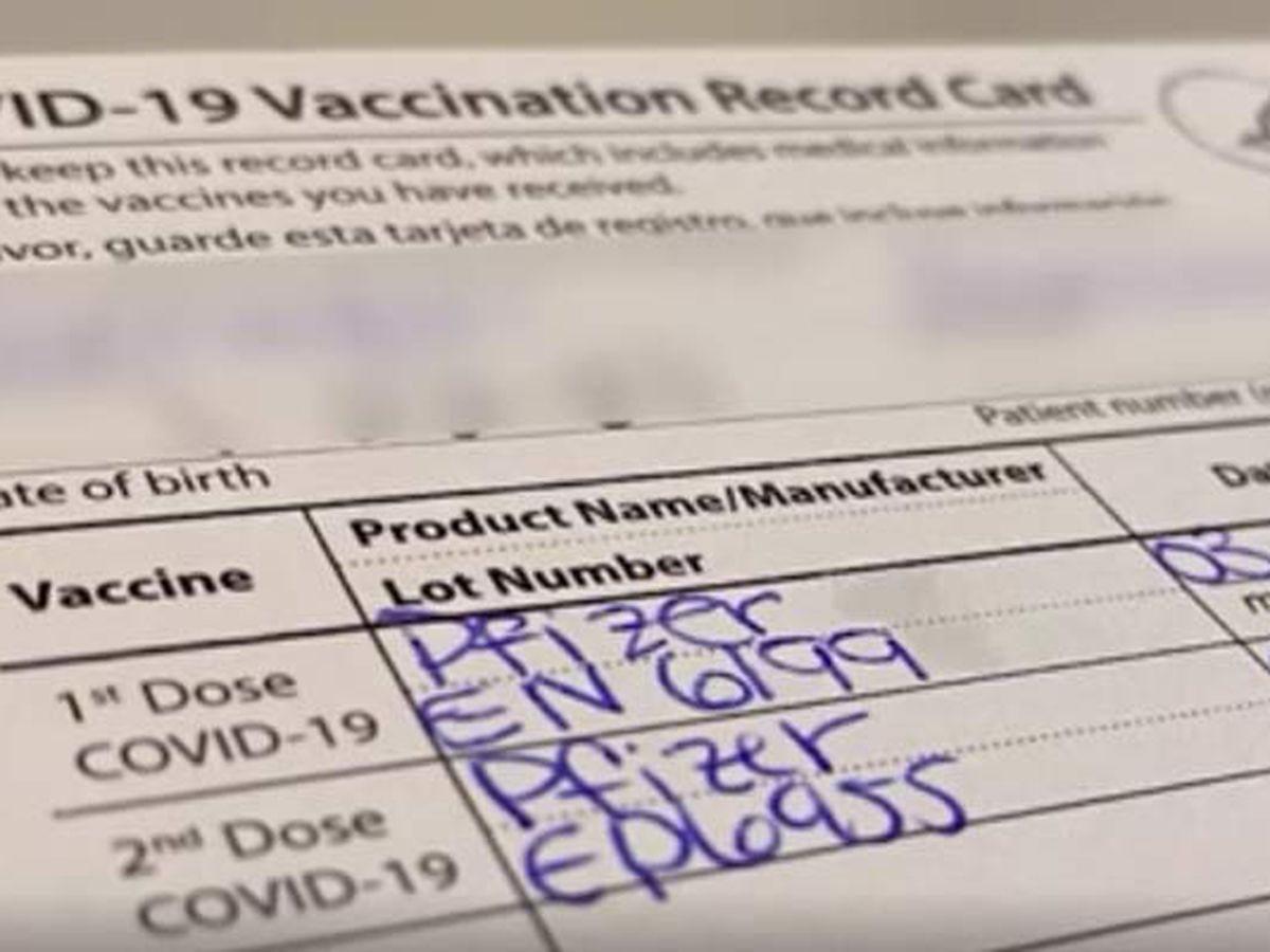 Good Question: How can I get a replacement vaccination card?