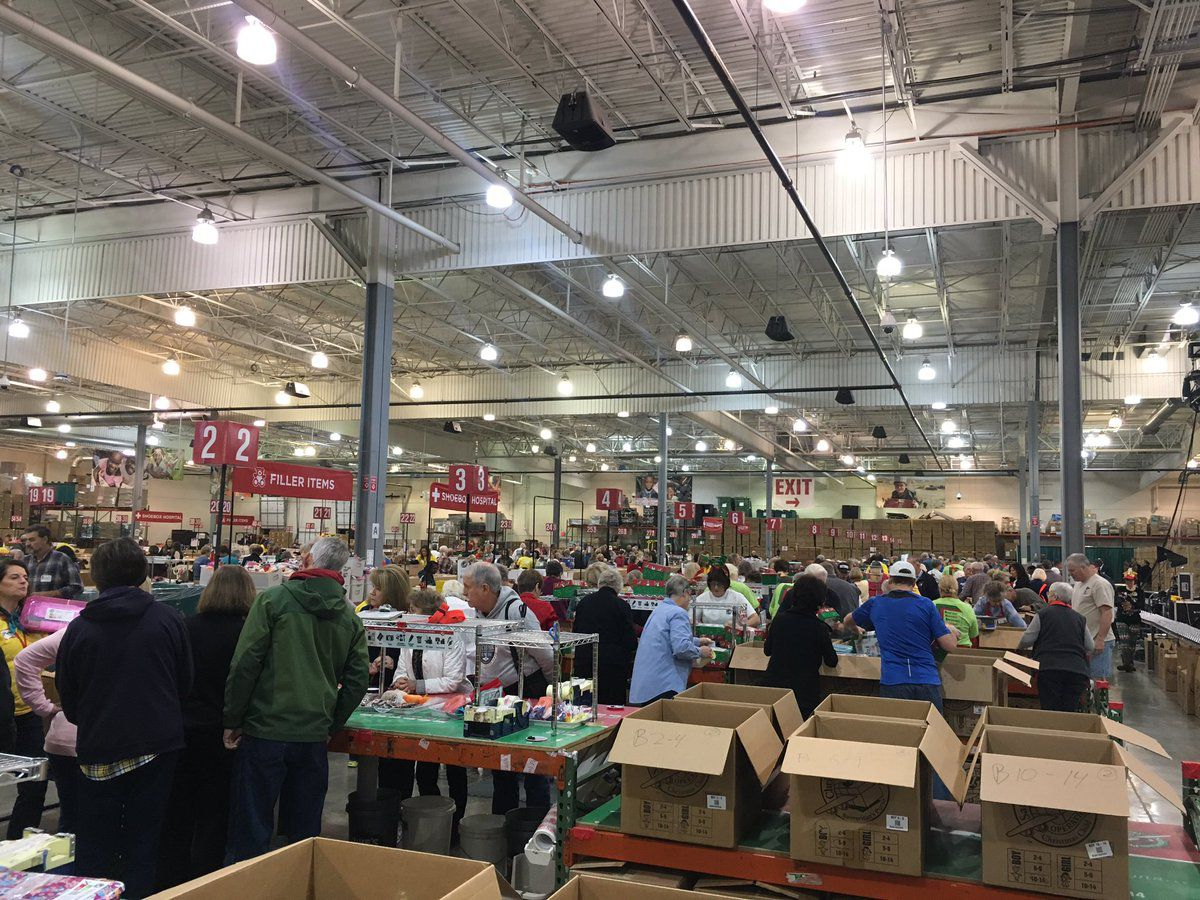 Operation Christmas Child celebrates 25 years of giving