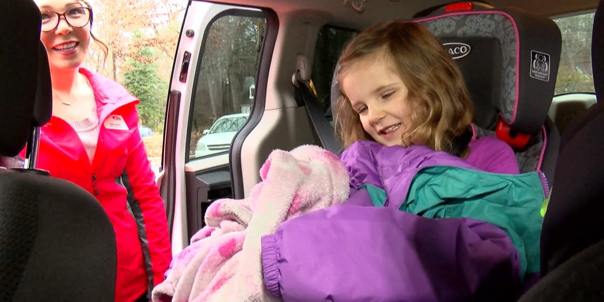 Experts warn winter coats may cause issues for children in car seats