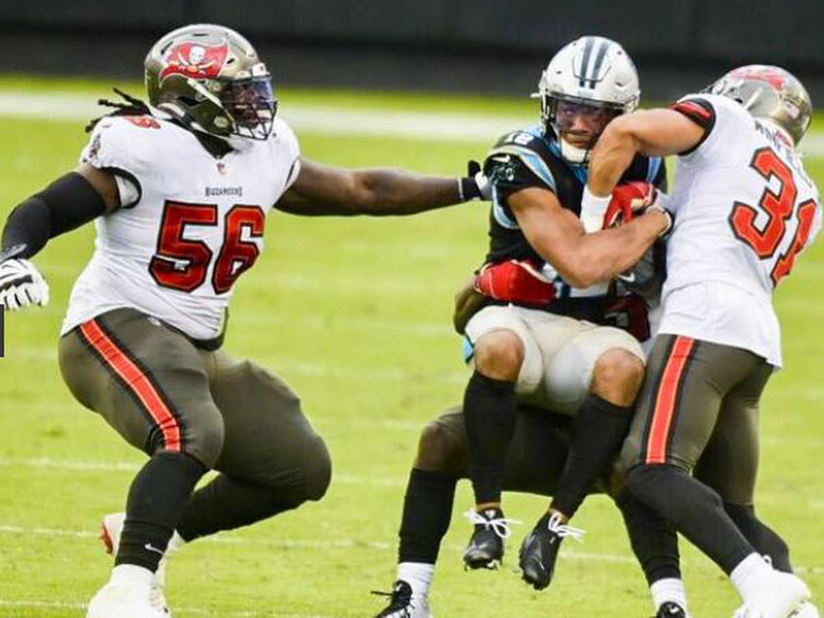 Brady, Buccaneers bounce back with 46-23 win over Panthers